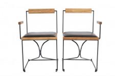 椅子/クレイドルチェア/アーム付き