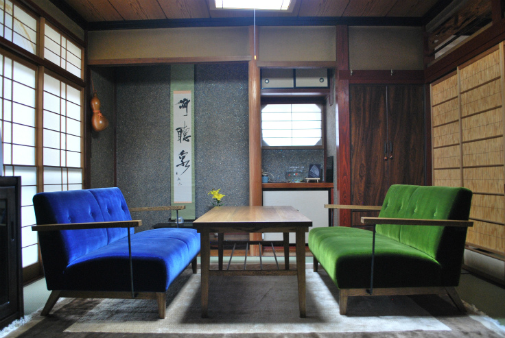 SOFA01・LOW TABLE02
